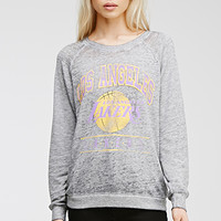 LA Lakers Burnout Sweatshirt