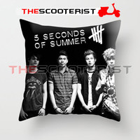 """5 Second Of Summer Personil - Pillow Cover 18"""" x 18"""" - One Side"""