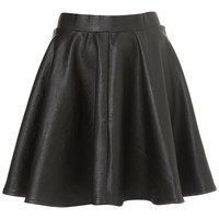 Black Full Skater Skirt - Going Out - Collections - Topshop