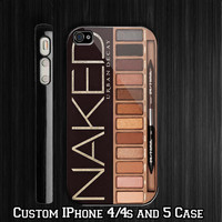 Naked Urban Decay Palette Inspired Custom iPhone 4 4S case, iPhone 5 Case, Samsung Galaxy S2 case, Samsung Galaxy S3 case