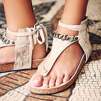 Free People Collins Footbed - Stone