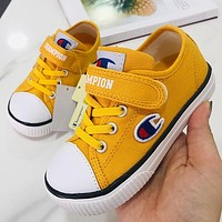 Champion Girls Boys Children Baby Toddler Kids Child Fashion Casual Sneakers Sport Shoes