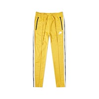 Nike Men's Sportswear NSW Tape Yellow Black Track Pants
