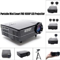 Ourspop Portable New Mini Home LED Projector with HDMI/VAG/USB 2.0/AV/SD