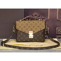 Louis Vuitton LV vintage tote bag classic ladies single shoulder messenger bag