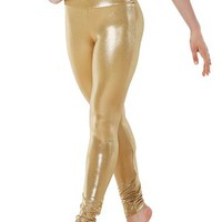 High-Waist Metallic Leggings | Balera™