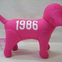 Victoria's Secret Knit 1986 Pink Dog