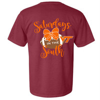 Virginia Tech Gameday shirt - Saturdays in the South