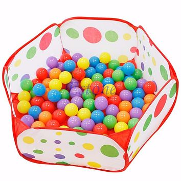 Kids Ocean Ball Children Pool Pit Game Play Toy Tent Baby Safe Playpen