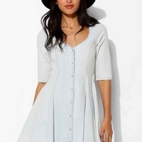 For Love & Lemons Chambray Dress- Grey