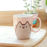 Pusheen the Cat Polka Dot mug