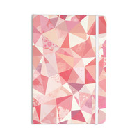 "Nic Squirrell ""Crumpled"" Pink,Geometric Everything Notebook"