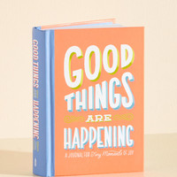 Good Things are Happening Journal   Mod Retro Vintage Books   ModCloth.com