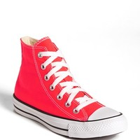 Converse Chuck Taylor® All Star® 'Fiery Coral' High Top Sneaker (Women) | Nordstrom