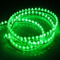 1.2M/120CM PVC Car Vehicle LED Strip Flexible Light Strip Light 12V Waterproof Green - Ideal to use for car,motorcycle,boat,DIY lighting decoration of home, hotel, club, shopping mall;Extensively applied in backlighting, concealed lighting, channel letter