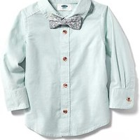 Bow-Tie Dress Shirt for Baby