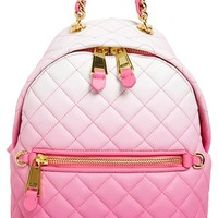 Moschino 'Letters' Dégradé Quilted Nappa Leather Backpack | Nordstrom
