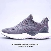 Adidas Alphabounce men's and women's sports running shoes