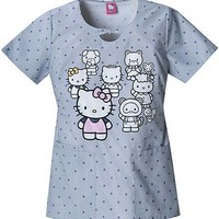 Buy Tooniforms Women Hello Kitty Family Bow Front Top for $22.45