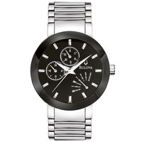 Men's Bulova Classic Chronograph Black Dial Watch