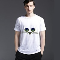 Strong Character Tee Fashion Men's Fashion Summer Cotton Stylish Short Sleeve Casual T-shirts = 6450981123