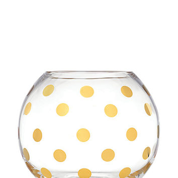 Kate Spade Pearl Place Rosebowl Gold ONE