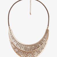 Zigzag Cutout Necklace