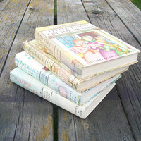 Vintage Books Little House In the Big Woods The Long Winter On the Banks of Plum Creek Little Town on the Prairie Laura Ingalls Wilder