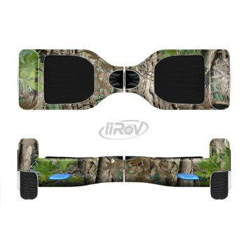 The Vibrant Real Woods Camouflage Full Body Skin Set for the Smart Drifting SuperCharged Transportation iiRov