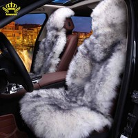 100% Natural fur Australian sheepskin car seat covers. Universal Size