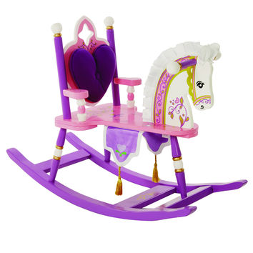 Levels of Discovery Princess Rocking Horse - RAB20001