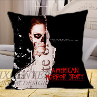 American Horor Story  on Square Pillow Cover