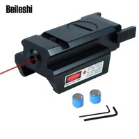Beileshi New Red Dot Laser Sight There Picatinny Rail 20 mm Tactical 532nm Hunting Scope Applicable Type L2030