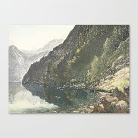 To the loch Canvas Print by anipani