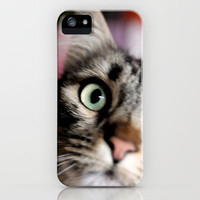 cats square o2 iPhone Case by findsFUNDSTUECKE