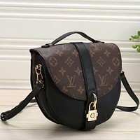 Louis Vuitton LV Women Fashion Leather Handbag Crossbody Shoulder Bag