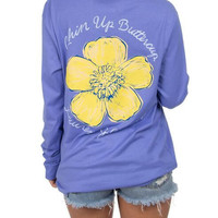 Lauren James Long Sleeve Tee- Chin Up Buttercup
