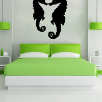 Vinyl Wall Decal Sticker Seahorses #OS_MB639