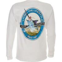 Academy - Guy Harvey Men's Marlin Air Long Sleeve T-shirt