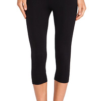 Stateside Cropped Legging in Black