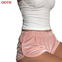 Shorts Cotton Velvet Fitness