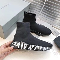 shosouvenir  Balenciaga Fly knitting high top casual light breathable socks