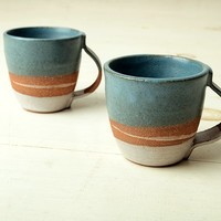 JOINERY - Wide Strap Mug by Signe Yberg - LIVING