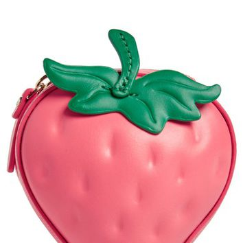 kate spade new york picnic perfect 3D strawberry coin purse | Nordstrom