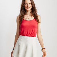 Solid Textured Skirt