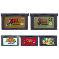 Nintendo 32 Bit Video Game Cartridge Console Card TheLegendofZelda Series English Language Edition