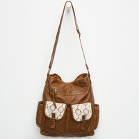 T-SHIRT & JEANS Molly Crochet Tote   Totes & Messenger Bags