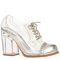 Jeffrey Campbell Heel Clearly Shoe in Clear