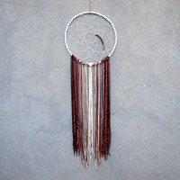 Dream catcher wall hanging Ombre wall hanging Large dreamcatcher Bohemian wall decor Bedroom wall decor Hippie tapestry Gypsy style decor