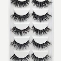 Natural Thick False Eyelashes